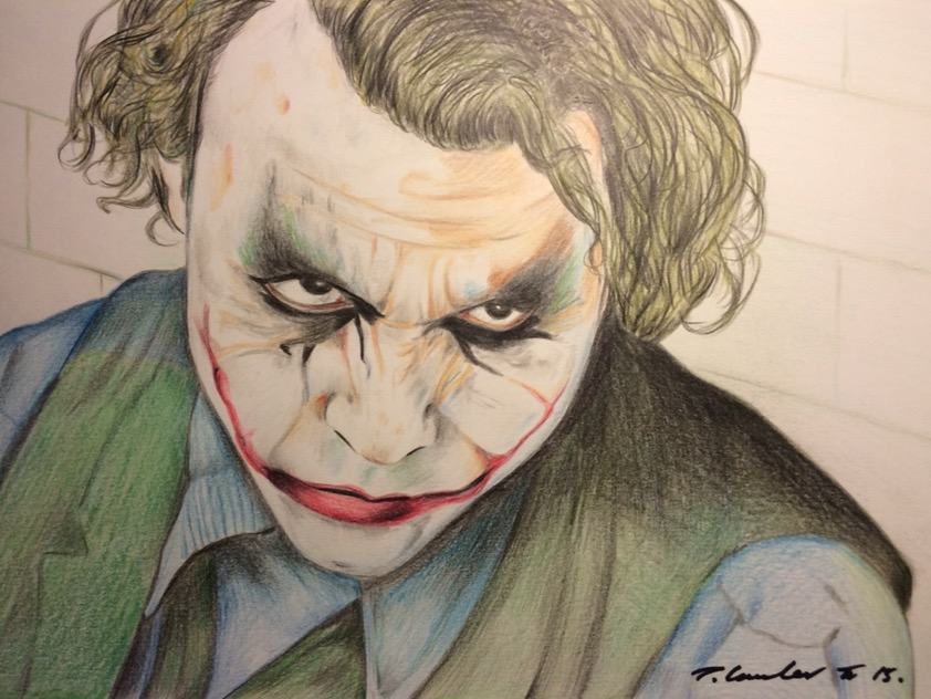 Heath Ledger par TraceyLawler